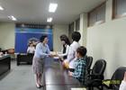▶해송여성팔각회: 새터민 후원금 지원